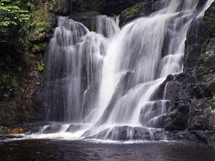 Torc Waterfall, Killarney - 20 best hikes in Ireland Connemara, Walking Routes, Les Cascades, Parc National, Beautiful Waterfalls, Best Hikes, Ireland Travel, Where To Go, Scenery