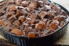 Bobby Flay's Chocolate Bread Pudding