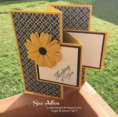 SUE ALLEN SIMPLY CRAFT: STAMP N HOP BLOG HOP MARCH, 2021 Fun Fold Cards, Folded Cards, Current Catalog, True Love, Card Stock, Stampin Up, Daisy, March, Paper Crafts
