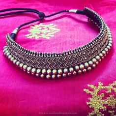 Silver Necklace Designs, Silver Choker Necklace Designs.