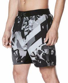 acb9a37416 (eBay Sponsored) Nike NEW Black Mens Size Medium M Breaker Printed Board  Shorts Swimwear