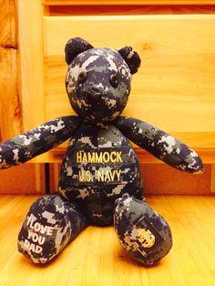 Navy Bear Custom Order!