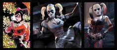 Harley Quinn Transformation. They left out Gotham City Suicide Squad and Injustice Harley Quinn style.