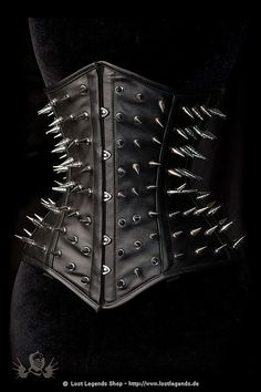 goth fashion for girl women lady gothic style Dark Fashion, Gothic Fashion, Fetish Fashion, Style Fashion, Filles Punk Rock, Gothic Korsett, Pin Up, Studs And Spikes, Mode Costume