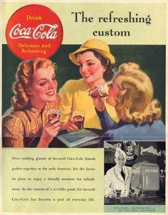 95 Best Vintage Coke ads images in 2011   Coca cola ad, Coca
