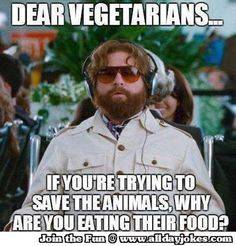 Hangover Message to All Vegeterians