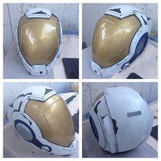 Jaeger drift pilot helmet