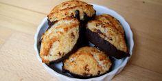 Kokosmakronerne er perfekte som en lækker lille snack