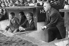 Bill Shankly watches on as Liverpool beat Doncaster Rovers 2-0
