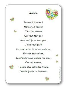 Comptine Maman French Poems, Puffy Paint, Funny Slogans, Practical Gifts, Kids Songs, Learn French, French Language, Fathers Day, Compliments