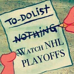 To do list - watch NHL playoffs! Kings Hockey, Ice Hockey, Hockey Puck, Hockey Memes, Hockey Quotes, Hockey Pictures, Lets Go Pens, Stanley Cup Playoffs, Hockey Players