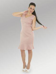 Vestido Essai #moda #lino #FW2014 www.abito.com.mx