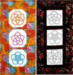 This is San Kamon, which features 3 Celtic style knots for applique or embroidery. The pattern is $9usd on www.ScarlettRose.com