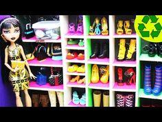 Manualidades para muñecas: Cómo hacer una zapatera / armario En este episodio le mostramos cómo hacer una zapatera / armario o walk-in closet para zapatos de muñecas: barbie, monster high, ever after high,equestria girls,liv,bratz,american girl,winx club,blythe, pullip, doll collector, lps, lalaloopsy,mlp,my little pony,disney princesses,etc.