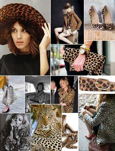 Monochromatic Monday :: On the Wild Side Fashion Art, Fashion Words, Fashion Themes, Leopard Fashion, Animal Print Fashion, Animal Prints, Leopard Prints, Animal Print Background, Vintage Winter