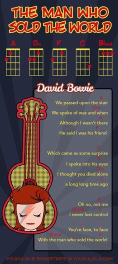The Man Who Sold The World - David Bowie - Ukulele: