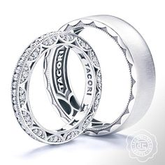 Iconic crescents bond the fabric of each and every #Tacori design.