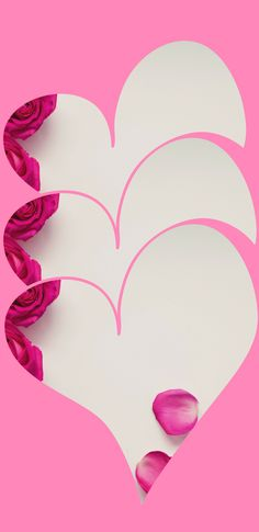 Triple love heart Pink White Floral Christian Mobile Phone Wallpaper and Screensaver Heart Wallpaper, Pink Wallpaper, Colorful Wallpaper, Wallpaper Backgrounds, Wallpapers, Free Christian Wallpaper, Screensaver, Create Website, Pink Love