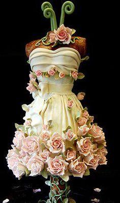 dress form cake - Google Search
