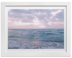 """""""Moody Atlantic"""" - Limited Edition Art Print by Kate Ross in beautiful frame options and a variety of sizes. Canvas Art Prints, Framed Art Prints, Wall Art Prints, Fine Art Prints, Night Clouds, Blue Clouds, Domino Art, Photoshop, Beach House Decor"""