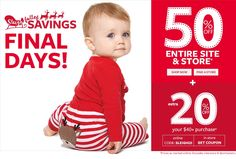 Sleigh full of Savings - Final Days of Holiday sale | Ship Worldwide with Borderlinx.com Toddler Outfits, Kids Outfits, Cute Babies, Baby Kids, Final Days, Baby Necessities, Holiday Sales, Cyber Monday, Ship