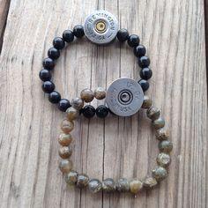 Remington Shotgun Shells repurposed into beautiful bracelets. Loving these Summon the Muse pieces!