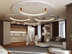 Modern POP False Ceiling Designs   LED Ceiling Lights For Living Room Part 52