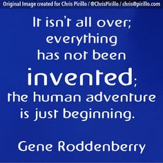"Is your adventure just beginning? What do you hope to ""invent"" during your lifetime?     Today's thought-provoking photo brought to you by the inventive team over at http://lockergnome.com"