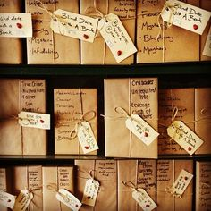 Blind date with a book - love this for Love Your Library month.
