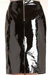 Black-glossy-asphalt vinyl | Hobble Skirts | Pinterest | Hobble ...