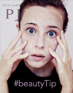 #Buongiorno followers! Pronti per il #beautyTip di oggi? Per eliminare ogni #residuo di #makeup ed impedire l'occlusione dei #pori, dopo aver passato lo #struccante, massaggiate il #viso con #acqua e #sapone oppure fate un leggero #scrub con il #peeling #purificante Petit Jardin.