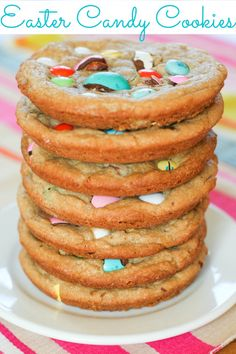 Easter Candy Cookies :: Blooming on Bainbridge