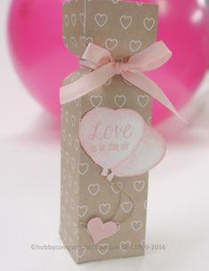 Geschenkverpackung zum Valentinstag