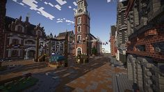New Brickston - A Colonial Styled City Minecraft Project