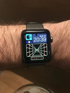 This one in a million custom watch face.