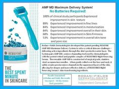 The clinically proven AMP MD will be available next week! Are you ready to roll you wrinkles AWAY? Find out more... barbaramccarty.myranf.com