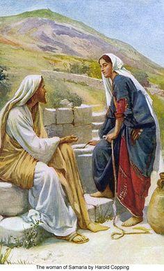 23-Zarus' sister, Estar, meets Jesus at a well.