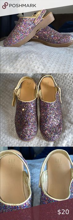 GAP Kids Girls NEW Sz 13 1 2 3 Kitten Blue Slip-On Ballet Flats Shoes