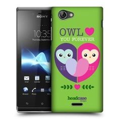 Ah! When love is in the air, breathe as much as you can. Be in love and stay in love as you fall in love… (yeah, love) with this lineup of Head Case Designs that features an Owl Love You Lovey Dovey Mishmash designed back case for your Sony Xperia J ST26i!