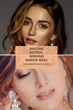 Natural Weddings Makeup Ideas #naturalmakeupideas Best Wedding Makeup, Natural Wedding Makeup, Natural Makeup, Bushy Eyebrows, Natural Eyebrows, Day Makeup, Makeup Ideas, Look Younger, Natural Looks