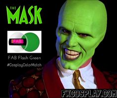 The Mask Cosplay Color Match by FXCOSPLAY
