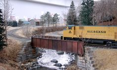 Allagash Railway photos - Mike Confalone's layout | Model Railroad Hobbyist. One of my top three proto-lance layouts along with Eric Brooman's Utah Belt and Jim McLellan's Virginia & Ohio!