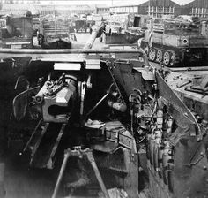 A Marder III Ausf. M in a military dump, probably after WW2.