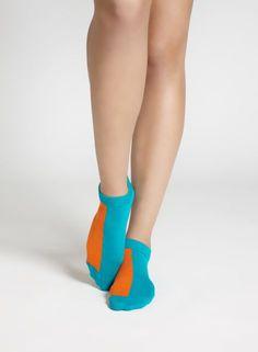 Duona-sukat (vihreä, oranssi) |Asusteet, Sukat ja sukkahousut, Laukut & asusteet | Marimekko