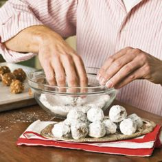 Food Gifts for Christmas: Hot-Spiced Bourbon Balls