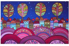 Piluca Soriano. Multicolor. http://pilarsoriano.wordpress.com/mi-galeria/mis-naifs/