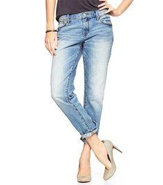 19374a58468bf Gap 1969 Sexy Boyfriend Jeans via  WhoWhatWear ( 70) Gap Boyfriend Jeans