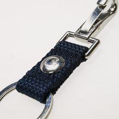 Carhartt WIP Camp Keyholder - Cotton Navy, Carhartt WIP kläder, Carhartt nyckelhållare, Carhartt WIP, Stort utbud av byxor från Carhartt WIP, Streetlab