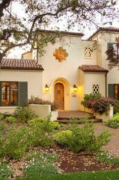 Palo Alto Residence mediterranean entry