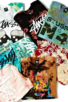 Stussy Various Shirts